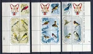 23995) .cu Ba. 1965 MNH Christmas, Birds 3x5v