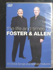 Foster And Allen - The Life And Times ( Multi Region DVD ) LIKE NEW, FREE Post