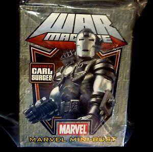 War Machine Bust Statue New Bowen Marvel Comics Iron Man  2005