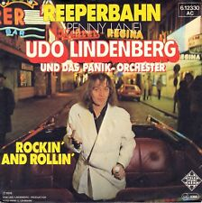 "7"" Udo Lindenberg – Reeperbahn (Coververs. Beatles – Penny Lane) // Germany 1978"