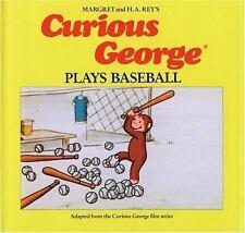 Curious George Plays Baseball-ExLibrary
