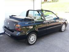 Volkswagen Golf 4 Cabriolet, 1,6 Volleder beige, BJ 1999, Blau Metallic