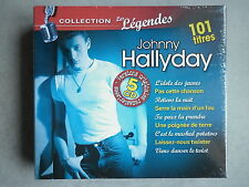 Johnny Hallyday coffret 5 cd album digipack Collection Les Légendes