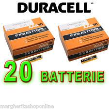 Batterie AAA MINISTILO DURACELL INDUSTRIAL: 20 pezzi in OFFERTA