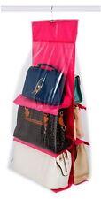 Vinsani sac à main organisateur de stockage titulaire-rose chaud