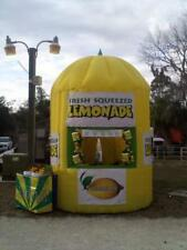 13fttall Commercial Inflatable Lemonade Concession Stand Event Drink Tent Booth