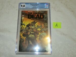 Skybound Exclusive Image The Walking Dead #1 Deluxe Black Foil Edition CGC 9.8 A