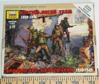 Zvezda highly detailed British Soldiers 1/72 scale Model Kit ships from USA New