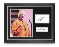 Victoria Wood Signed 16x12 Framed Photo Display Comedian Autograph Memorabilia