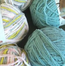 """Bernat Organic Cotton Yarn /""""Oasis/"""" Blue Multi//NEW For Toys and Garments"""
