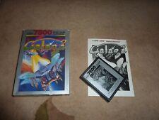 Atari 7800 Galaga PAL cartridge complete with English manual