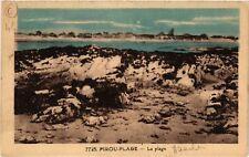 CPA  Pirou-Plage - La plage  (589508)