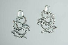 Rodrigo Otazu Drop Swarovsky Crystals earrings pierce