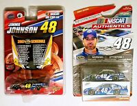 Nascar Action/Winner Circle  #48 Jimmy Johnson Lowes Car Lot Of 2