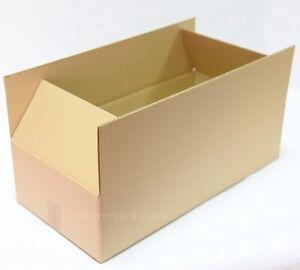 100x Faltkarton Karton 600 x 300 x 150 Faltschachtel DHL-Größe Versand C Welle