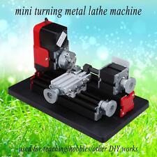 Motorized Turning Metal Lathe Machine Woodworking Metalworking Teaching DIY etc.