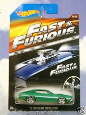 2015 hot wheels fast & furious fenix et de 1972 FORD Gran Torino Sport F&F 4
