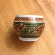 Welsh Dragon Pottery Rhayader Bowl Pot Dee-Cee Wales