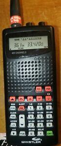 Whistler ws1010 digital handheld police/fire/ems scanner