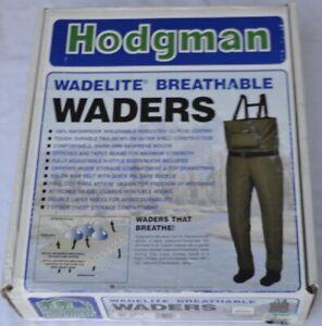 Hodgman Wadelite Breathable Waders size XL