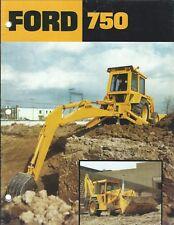 Equipment Brochure - Ford - 750 - Tractor - Loader Backhoe - c1978 (E4259)
