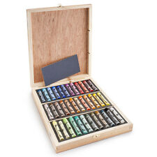 Sennelier Soft Pastels - Professional Artists Pastels - 36 Wooden Box Assorted