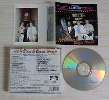 RARE CD ALBUM 100 % BLUES & BOOGIE WOOGIE PHILIPPE  LE JEUNE TRIO 15 TITRES 1996