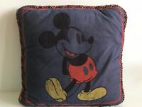 "Disney Shopping Mickey Mouse Decorative 16"" x 16"" Throw Pillow"