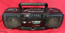 SHARP WQ-T 238H (BK) tragbarer Stereo Radio Kassettenrecorder Ghettoblaster