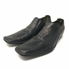 Mark Nason Lounge Loafers Mens Size 8.5 U Rock Studded Black Leather EUR 41.5