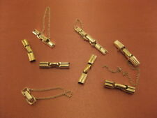 Lot of Vintage Ladies Gold Filled Band Replacement Buckles Nice Condition [E18]