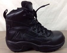 Converse Tactical Boots 5W Mens SWAT Side Zip Slip Oil Resistant Safety Toe Blk