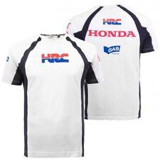 T-shirt Maglia Ufficiale Honda Racing Gas HRC Moto GP Marquez Pedrosa SBK