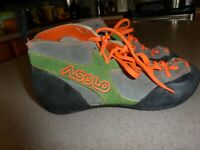 Asolo The Rage Vintage mens Rock Climbing Shoes sz 7.5