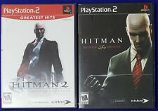 Playstation 2 PS2 Lot Hitman 2 Silent Assassin Greatest Hits & Blood Money