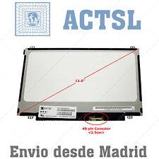 """Acer Aspire One 756-887BXKK LCD Display Pantalla Portatil 11.6"""" 1366x768 LED rtt"""