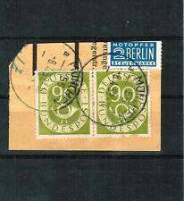 Gestempelte Ungeprüfte Briefmarken aus der BRD (ab 1948) für Post, Kommunikation