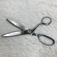 "Vintage WISS Pinking Shears Metal Sewing Scissors 9"""