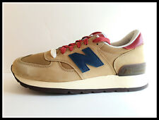 NEW BALANCE 990 DISTINCT TAN NAVY BURGUNDY M990DAN (Size:US8)