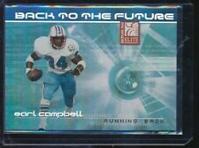 2002 Donruss Elite Back to the Future Earl Campbell Eddie George 327/400