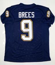 Drew Brees Autographed Navy Blue Pro Style Jersey- JSA Witnessed Authenticated