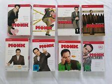Monk - Die Komplette Serie (DVD, 32 Disks), alle 8 Staffeln und eine Bonus-DVD