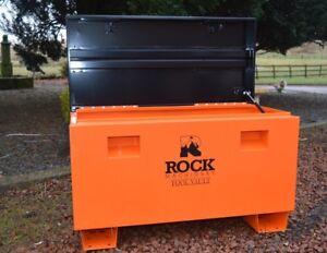 "Steel 36"" Job Site Tool Security Storage Box Vault by Rock Machinery"