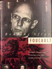 Robert S. Leventhal, Reading After Foucault