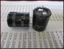 YAGEO Elko Kondensator 1000µF 100V ca.25x30mm ra.10 2 Stück