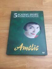 Amelie Dvd Widescreen Slipcover Audrey Tautou Mathieu Kassovitz