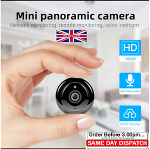 1080P IR Wireless WiFi CCTV Indoor &Outdoor MINI IP Camera CAM Home Security UK
