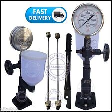 Diesel Injector Nozzle Tester (Iron) with Glycerin Filled Dual BAR / PSI Gauge