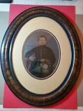 Civil War Soldier - Full Plate Tintype Hand Colored