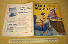 1941 VINTAGE AERO MODELLER MAGAZINE V6 #64 NECROLOGIO Lord Wakefield + Avro Cadet